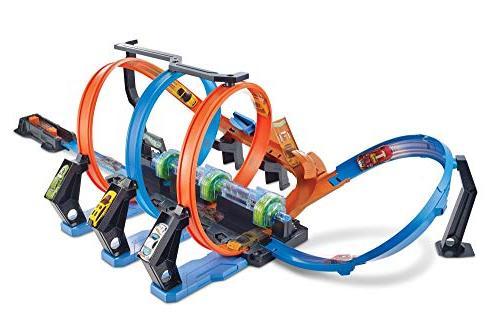 corkscrew crash track set