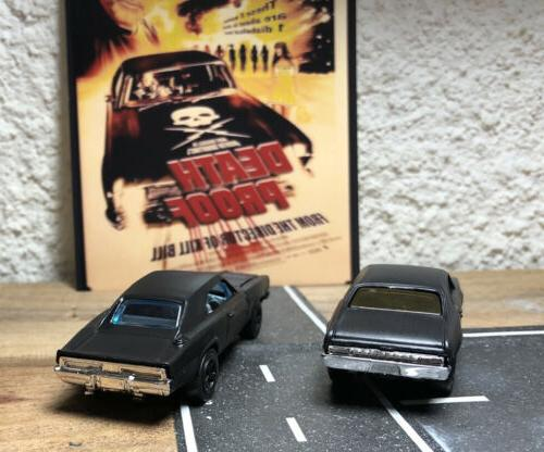 Custom Black NOVA and 1969 Charger 500 DEATH Hollywood