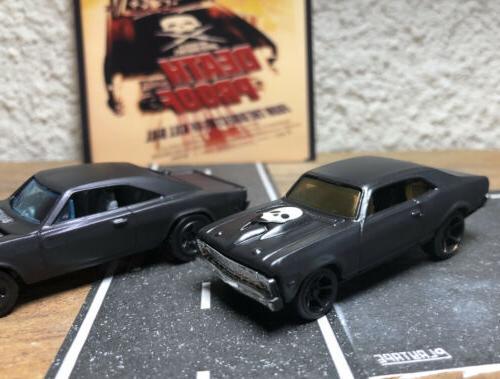 Custom Painted Black NOVA and 1969 500 PROOF Hollywood