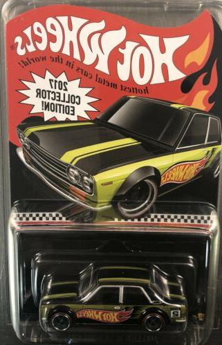 HOT WHEELS DATSUN COLLECTOR FREE SHIPPING
