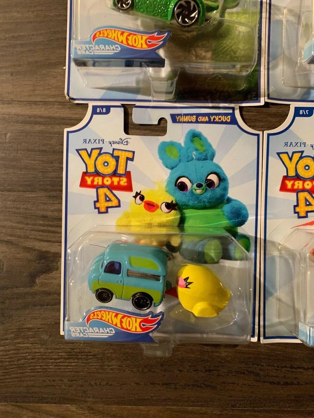 Hot Wheels Pixar Toy set Woody, Buzz, Bo