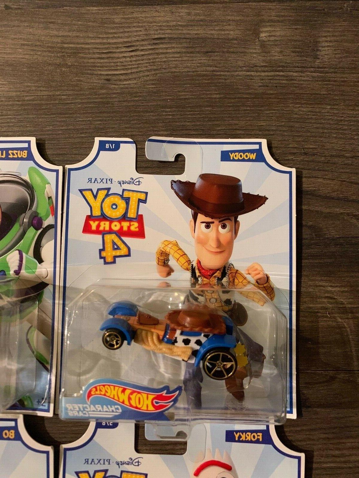 Hot Pixar Toy Story 4 set 8 Woody, Peep.....