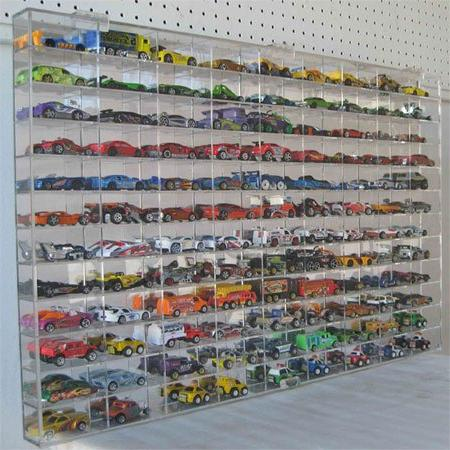 Hot Wheels Display Wall Cabinet108 AHW64-108
