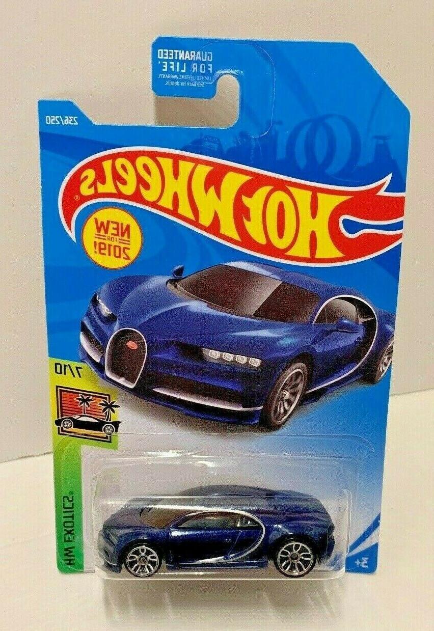 Hot Bugatti Blue