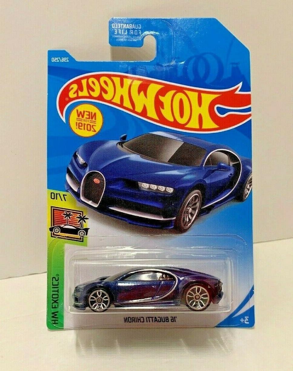 Hot Exotics: Bugatti Chiron - Blue