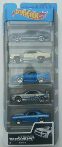 Hot Wheels Fast & Furious 5-Pack '67 Mustang Monte Carlo Por