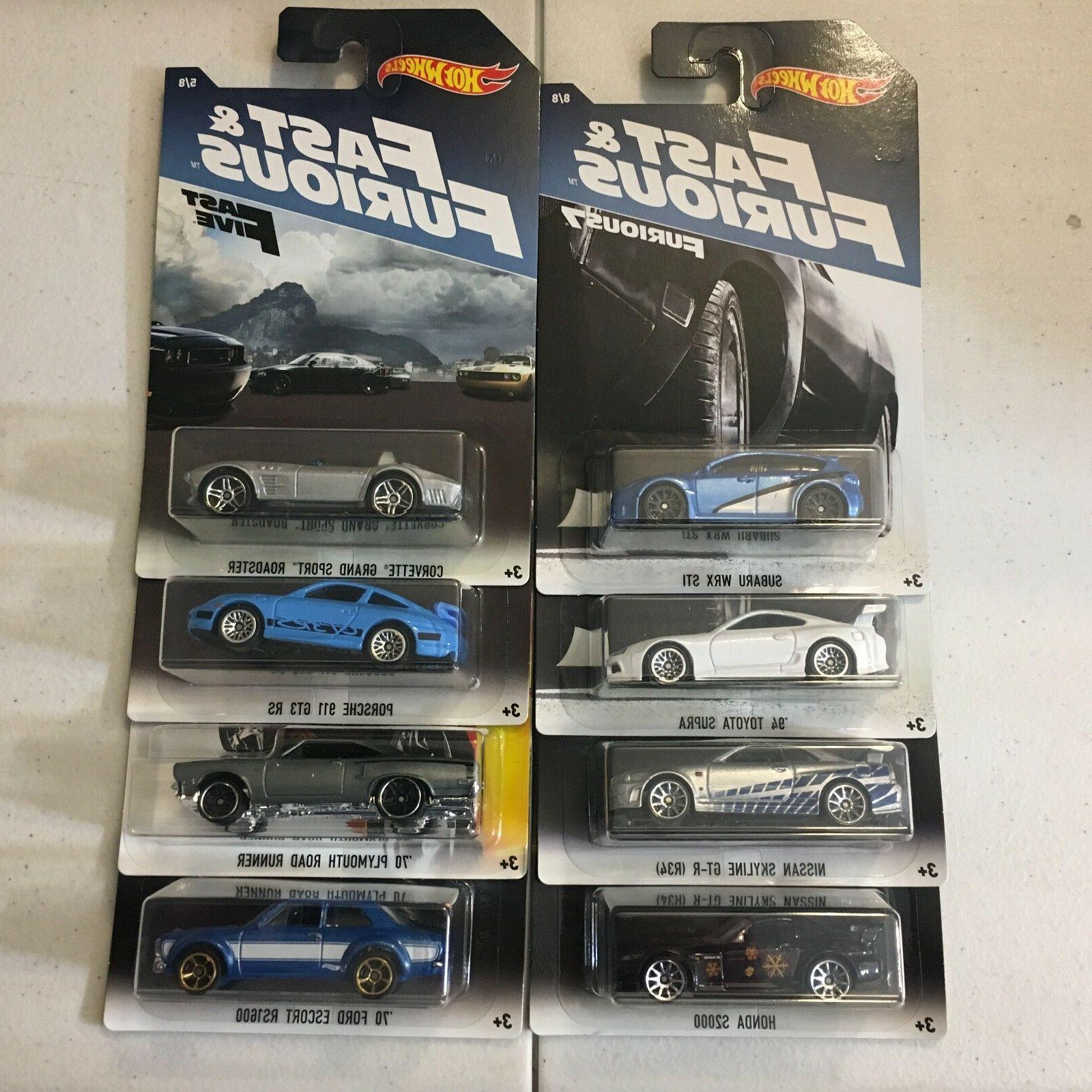 fast and furious 8 car set 2017