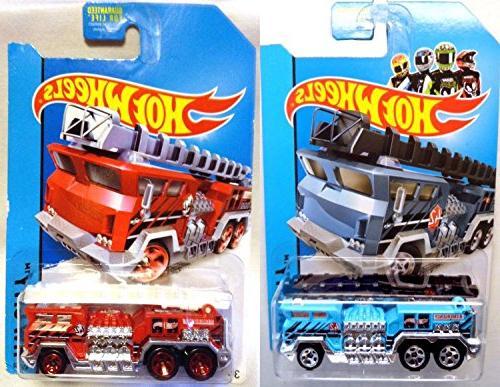 fire trucks 5 alarm blue