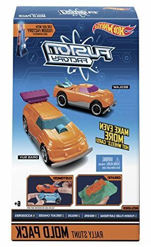 fusion rally stunt mold