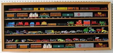 HO, Scale Hot Wheels, Cars, Minifigures Display Wall Lockable