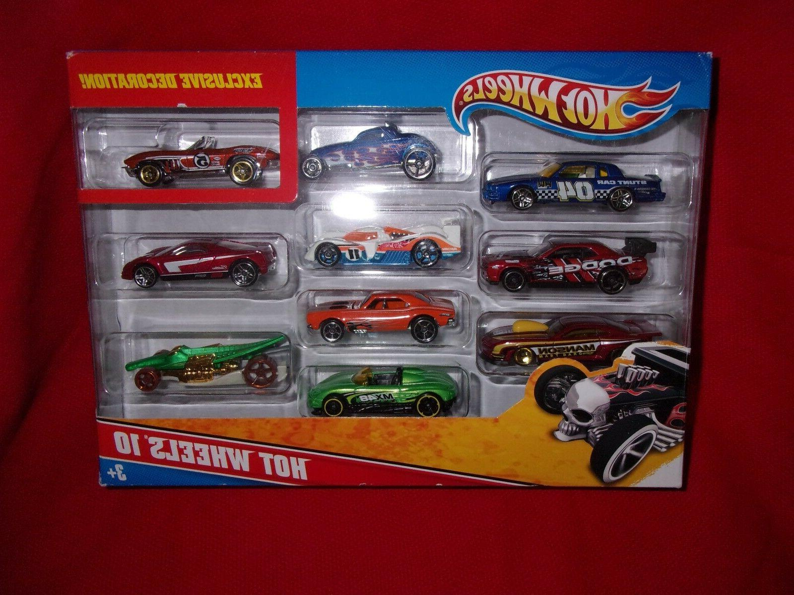 hot wheels 10 pack exclusive decoration die