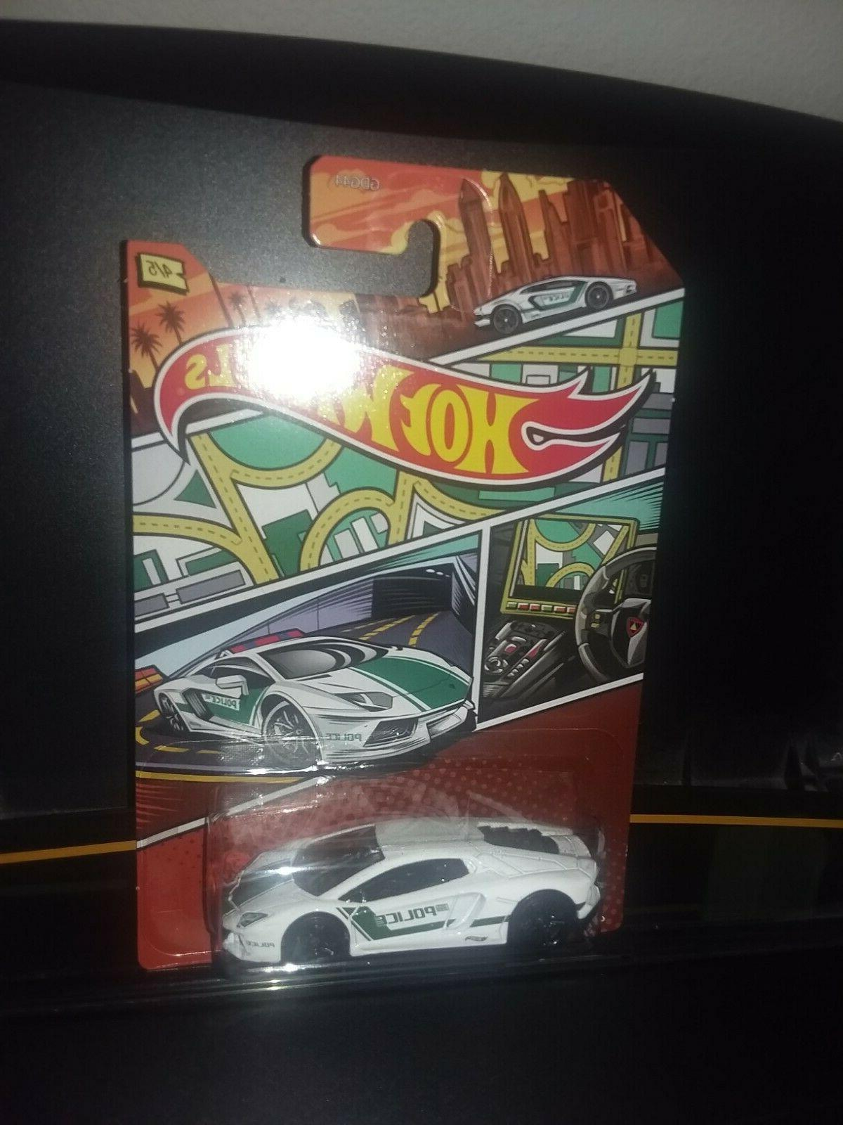 HOT WHEELS 2020 ART POLICE COMPLETE OF 5, WALMART EXCLUSIVE, VHTF!