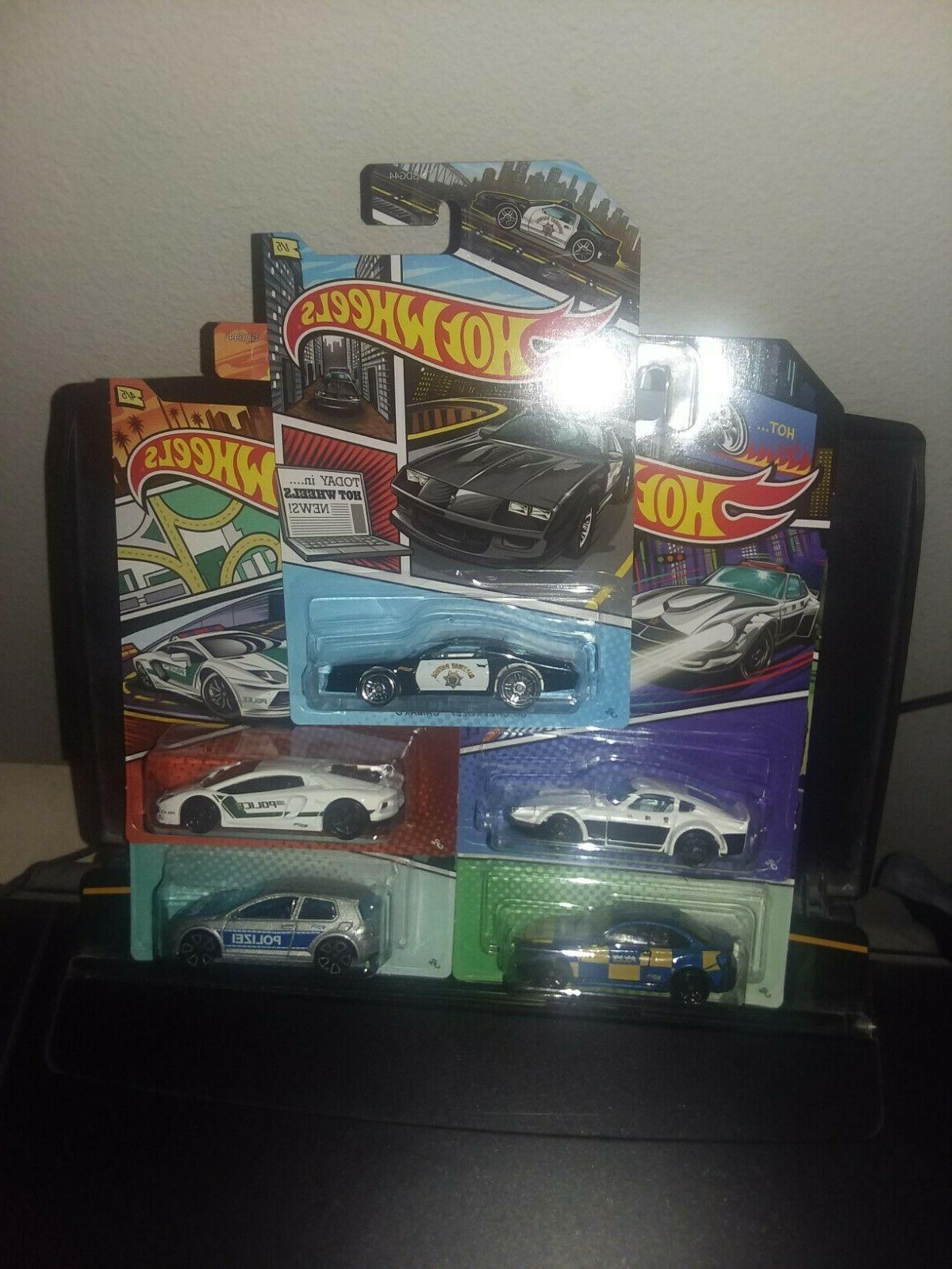 HOT WHEELS ART POLICE COMPLETE OF WALMART EXCLUSIVE, VHTF!