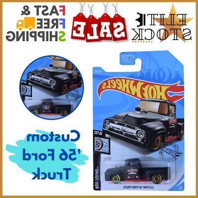 Hot Wheels Custom Play Toy Boy Birthday Gift 56 Ford Truck 2