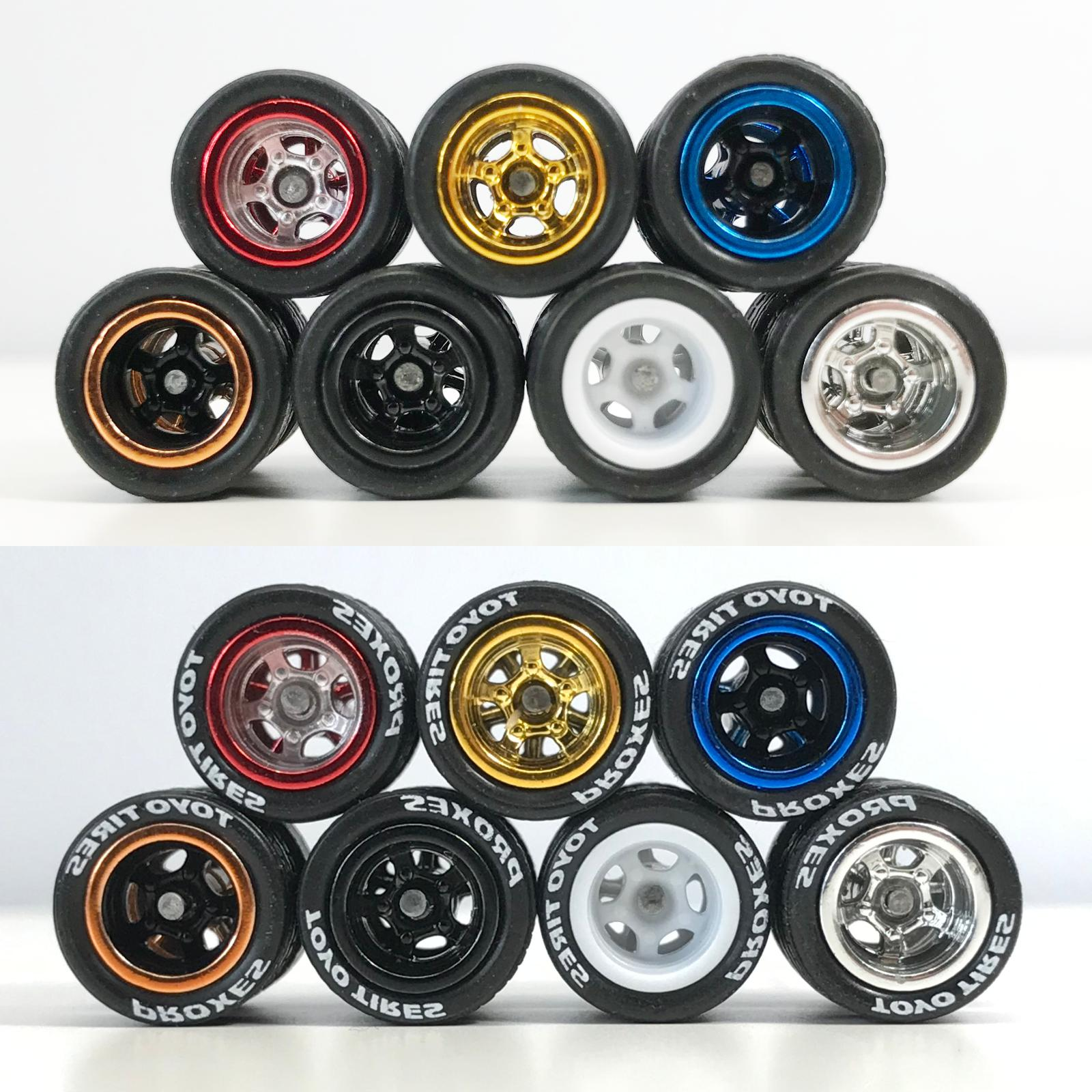 Hot Real Wheels and Tires for