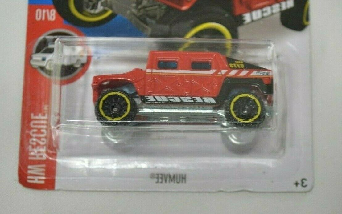 HOT WHEELS HW RESCUE 8/10 RED