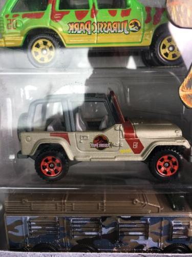 Jurassic Matchbox Pack Hot Jeep Ford