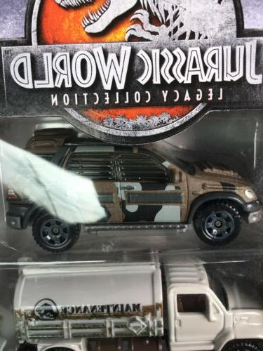 Jurassic Matchbox Pack Wheels Ford Transport