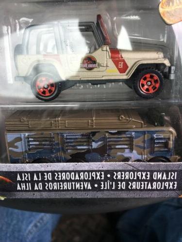 Jurassic World Matchbox Pack Ford