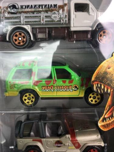 Jurassic World Matchbox Pack Hot Ford