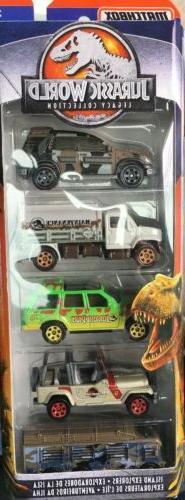 jurassic world 5 pack hot wheels jeep