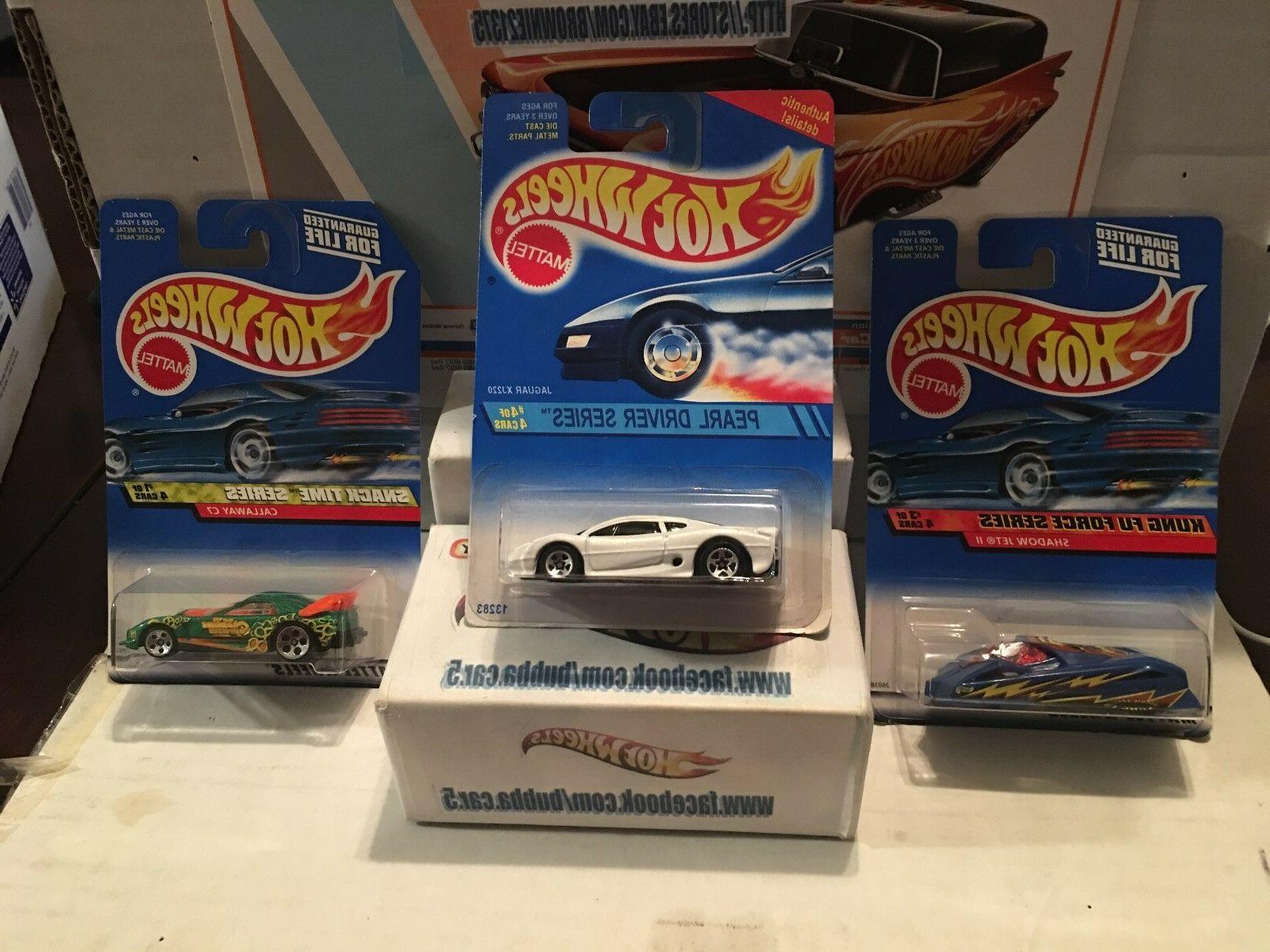 lot of 3 cars jaguar xj220 shadow