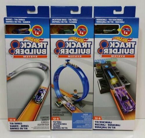 lot of 3 kits track builder system