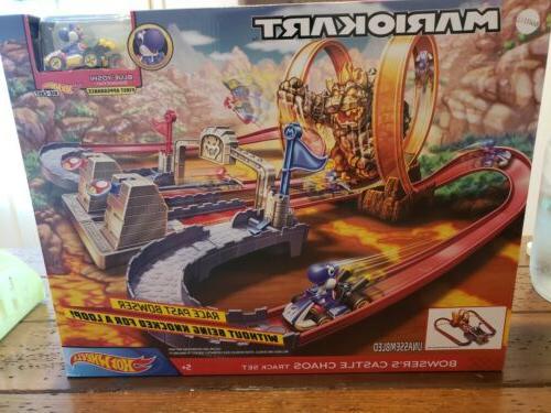 mario kart bowser s castle chaos track