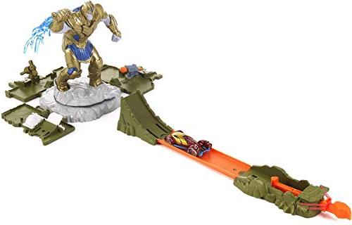 marvel showdown playset