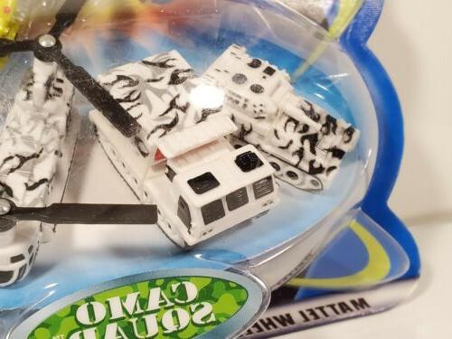 Micro Hot Wheels Atomix 2003 Camo Squad Mattel Micro Vehicles