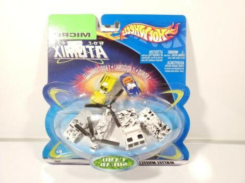 micro hot wheels atomix 2003 camo squad