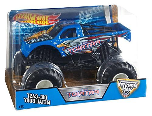 monster jam 1 24 patriot