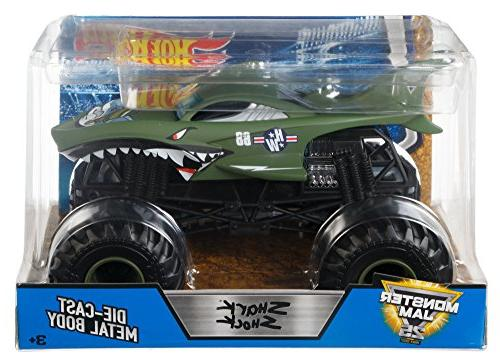 Hot Shark Shock Vehicle 1:24 Scale