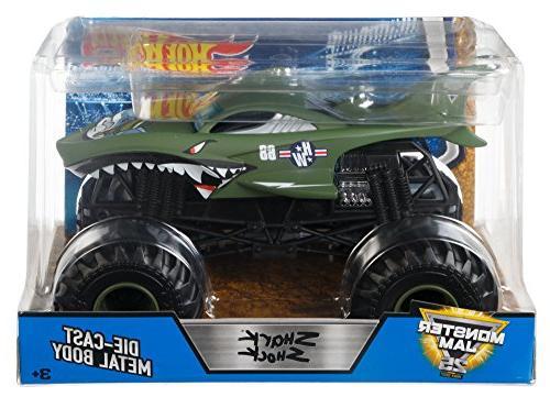 Hot Shark Shock Vehicle 1:24 Scale