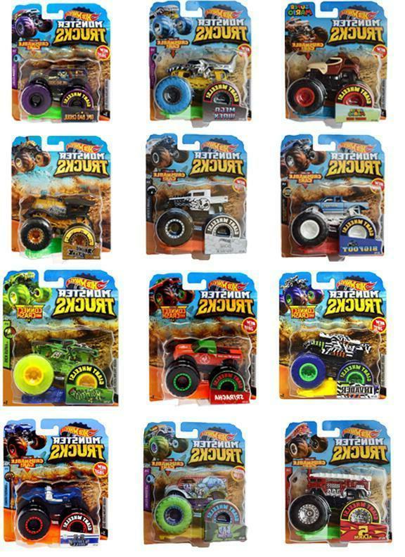 monster trucks assortment 1 64 diecast you