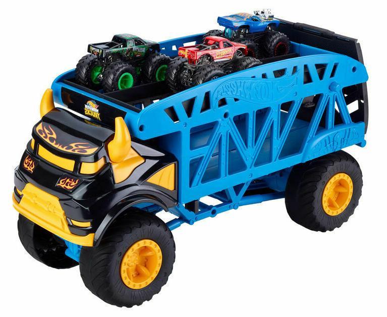 Hot Wheels Monster Trucks Monster Mover +3