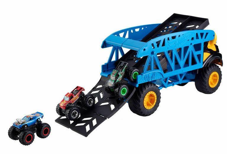 Hot Wheels Monster Trucks Monster Mover +3 Vehicle GGB64