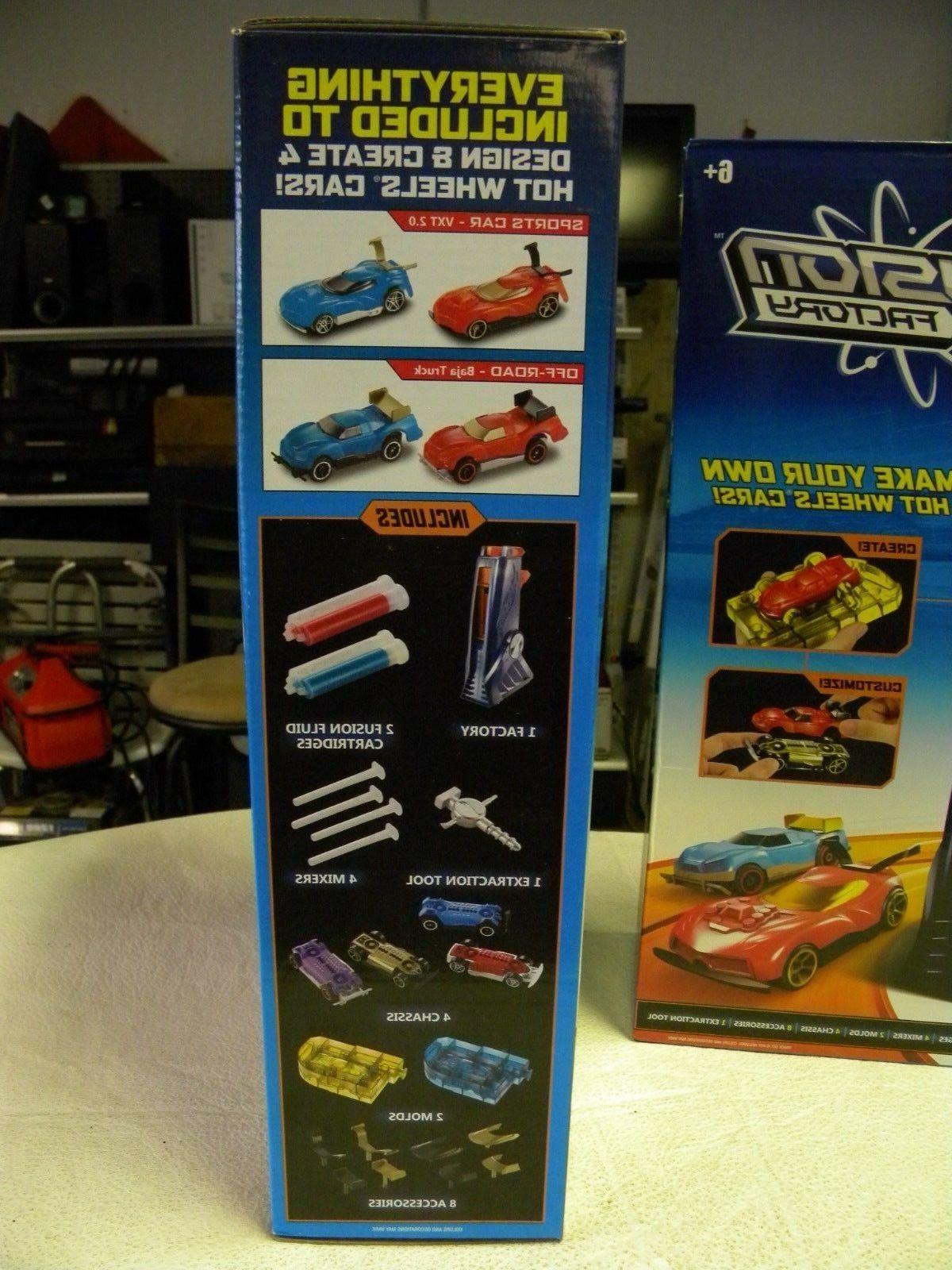 NEW! Wheels Factory Car Maker Set