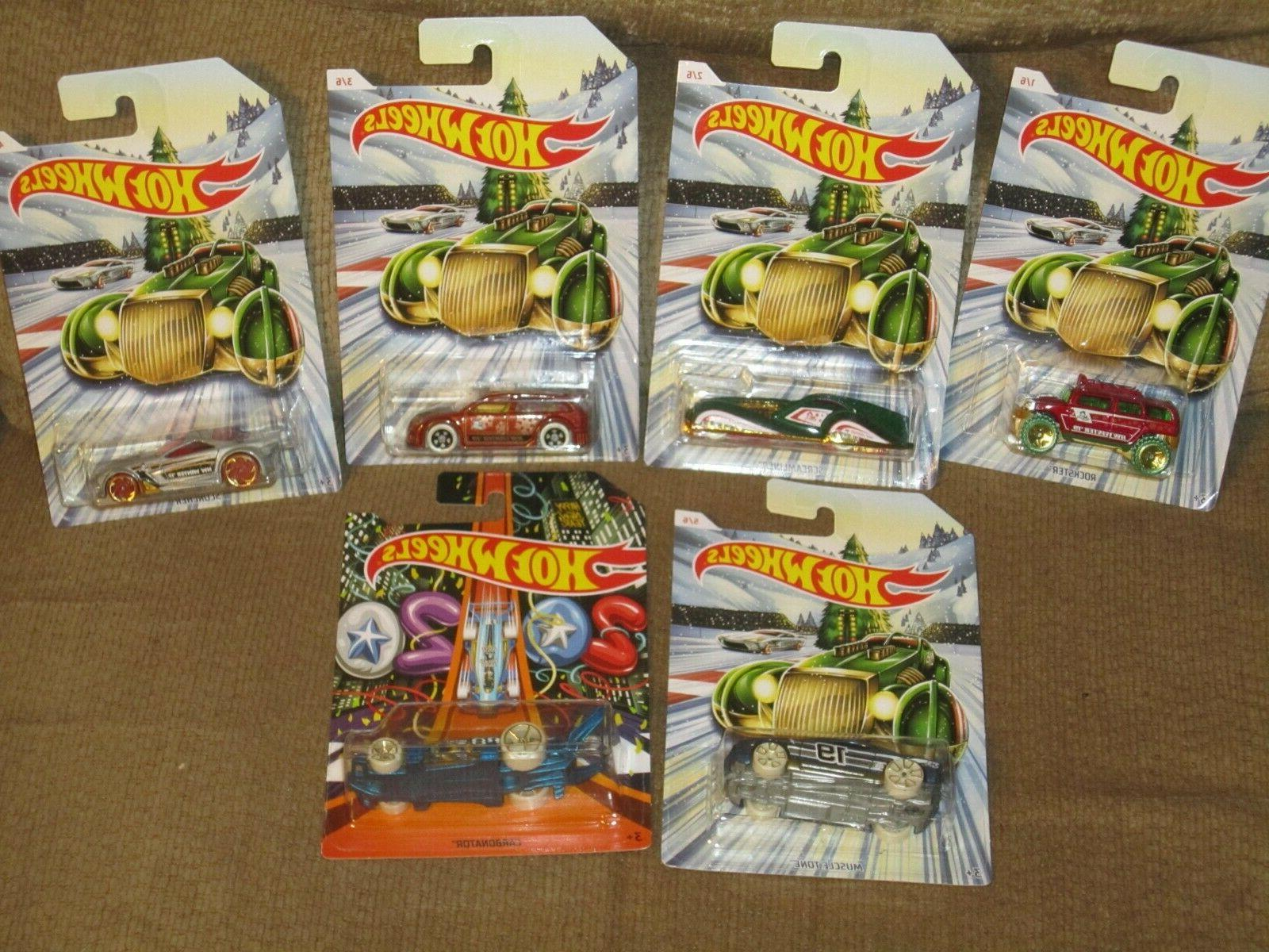 NEW HOT WHEELS HOLIDAY 2019 CHRISTMAS CARS WITH 2020 NEW YEA