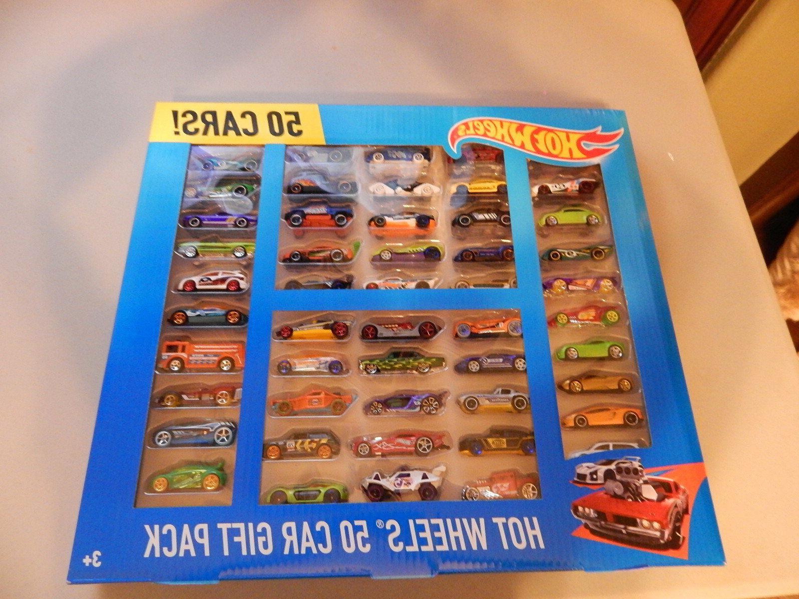 new hot wheels 50 car blitz gift