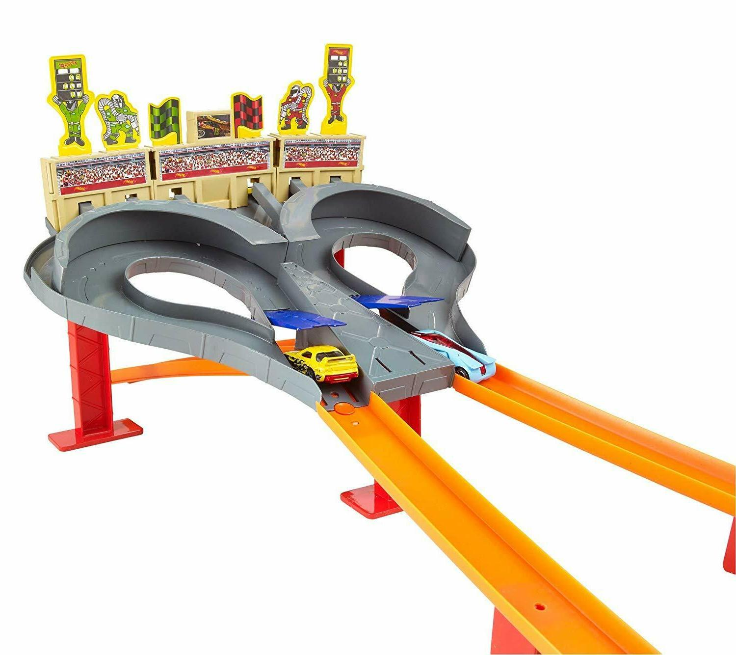 NEW Kids Multiplayer Wheels Super Speed Cars Set Gift