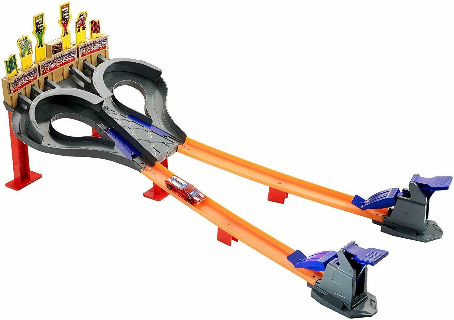 NEW Kids Multiplayer Wheels Super Speed Cars Track Set Gift