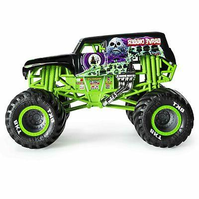 Monster Official Grave Digger Monster Die-Cast Vehicle, 1:24