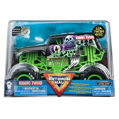 official grave digger monster truck die cast