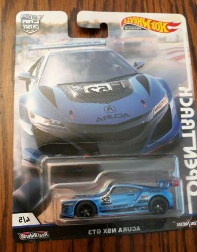 Hot Wheels Open Car Set AMG Acura