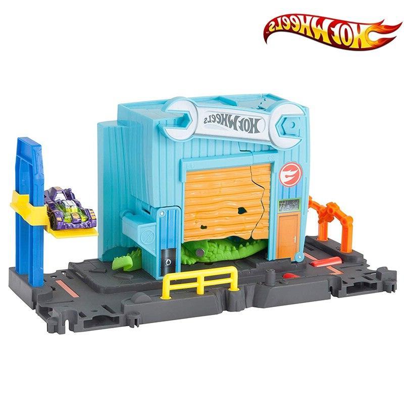 Original City Nemesis Attack Accessory Car Track Gator Toy Hotwheels Car FNB05