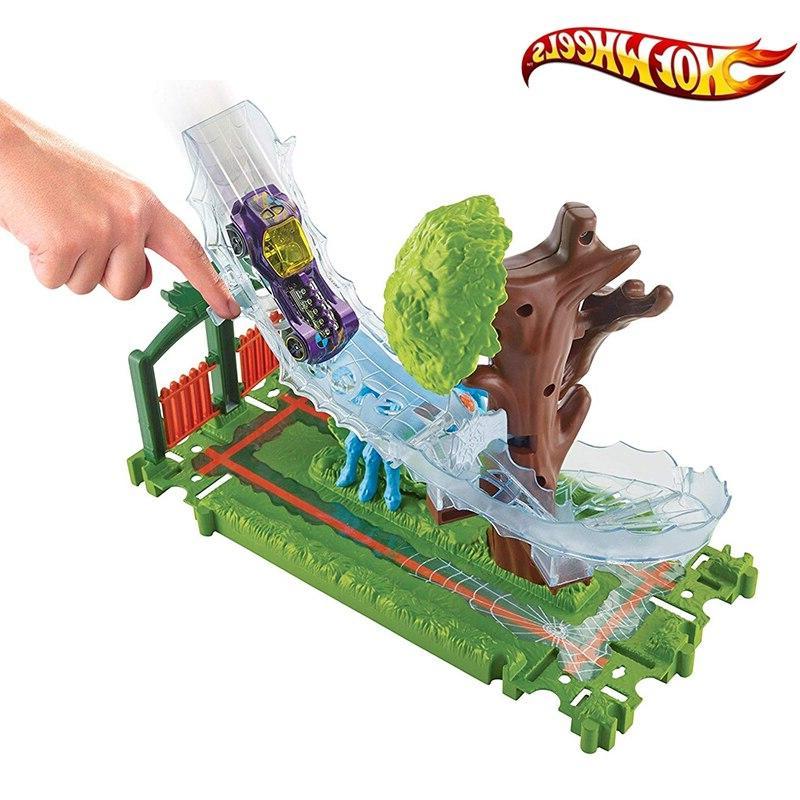 Original <font><b>Hot</b></font> <font><b>Wheels</b></font> Nemesis Attack Accessory Track Gator Toy