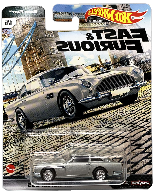 Hot Wheels Fast K Case 5 Cars