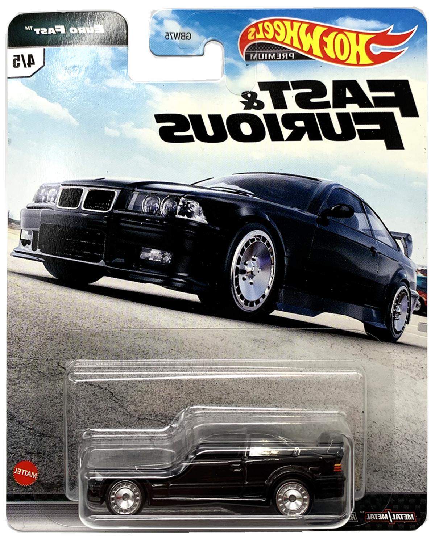 Hot Wheels Premium Fast Case 5 Cars