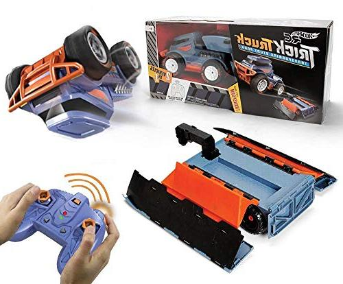 Hot R/c Truck Transforming Stunt Park Vehicle